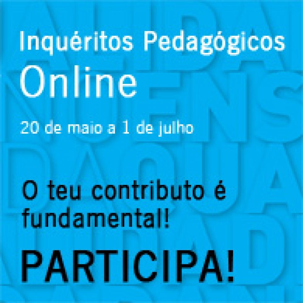 Inquéritos sobre ensino e aprendizagem na UMinho. Participa!