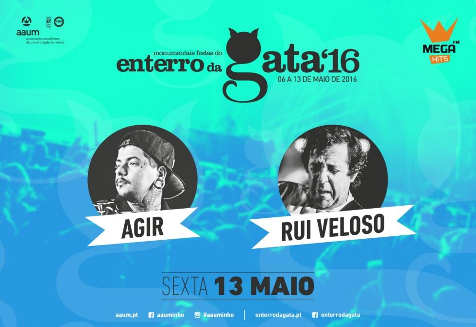 Agir e Rui Veloso confirmados no Enterro da Gata