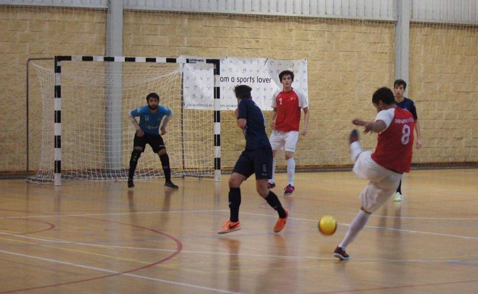 Futsal 100% vitorioso na I Jornada Concentrada