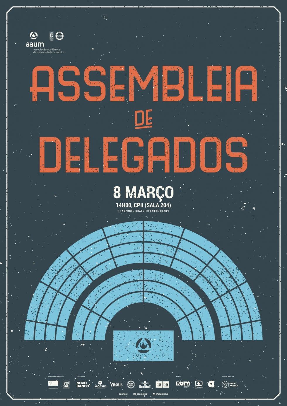 Assembleia de Delegados a 8 de março no campus de Gualtar